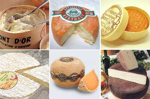 フェルミエ 竹中さんお気に入りチーズ6種