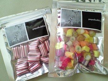 パパブブレのチョコミントキャンディ/フルーツMIX
