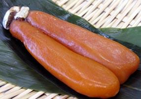 日本料理 菱沼の自家製 からすみ