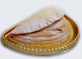 ラ・メール・プーラールの塩キャラメルのオムレツケーキ